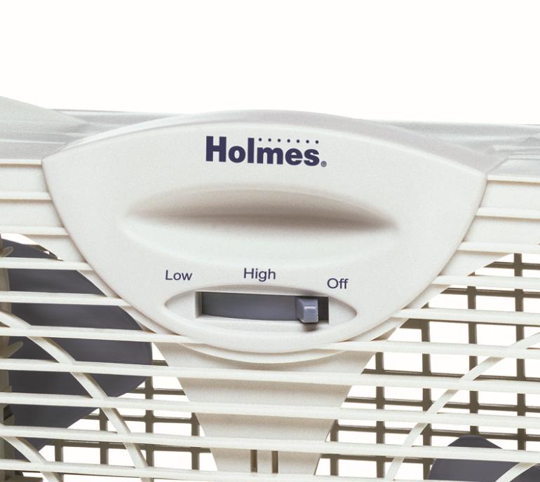 Amazon Com Holmes Dual Blade Twin Window Fan White Home