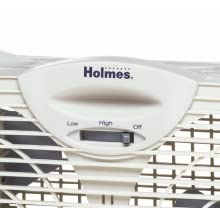 fan, window fan, holmes, hot weather