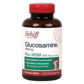 glucosamine, MSM, joint support