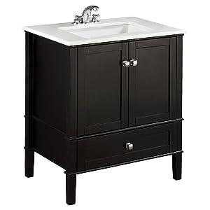Bon 30 Inch Chelsea Black Bath Vanity