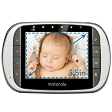 Motorola MBP853CONNECT Dual Mode Baby with LCD Parent Monitor and Wi-Fi Internet Viewing, 3.5""