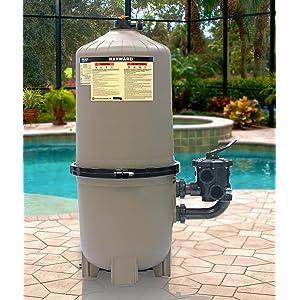 Amazon.com: Hayward DE2420 ProGrid - Filtro vertical para ...