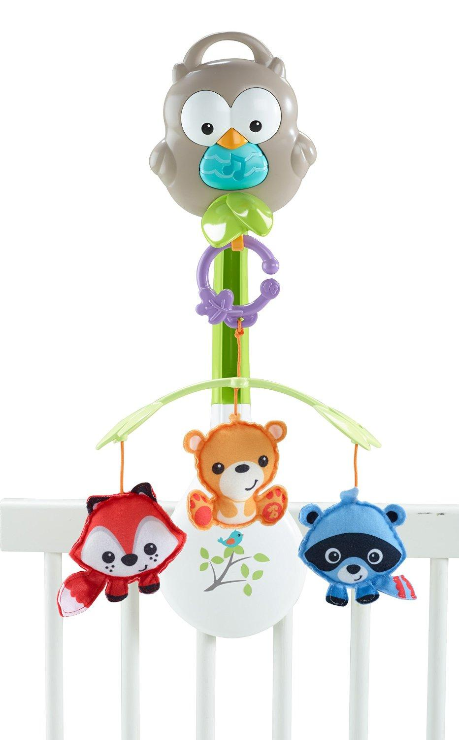 fisher price woodland friends 3 in 1 musical. Black Bedroom Furniture Sets. Home Design Ideas