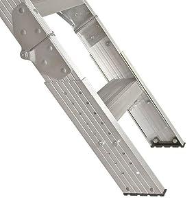 Amazon Com Louisville Ladder Aa2510 Elite Aluminum Attic