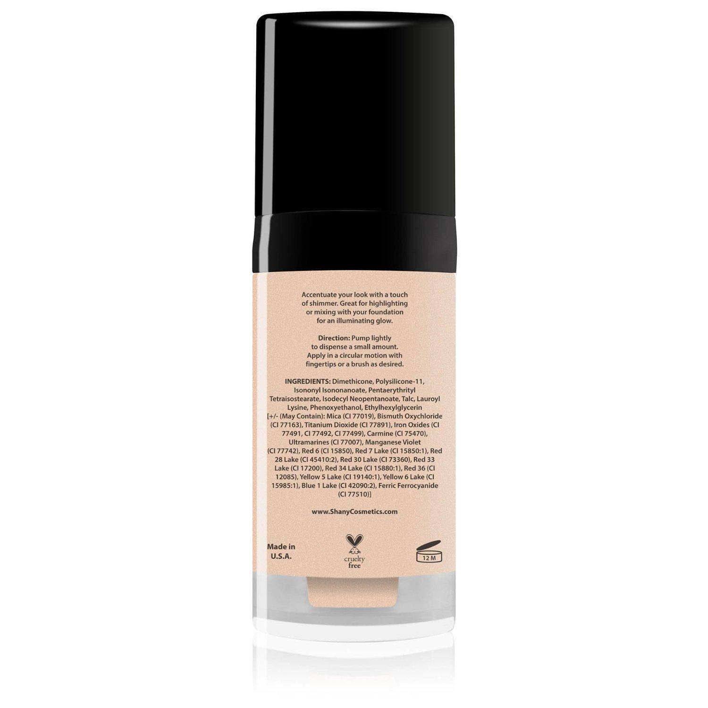 Amazon.com : SHANY Paraben Free HD Liquid Shimmer Luminizer, Golden