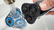 Philips Norelco Elétrica Shaver, barbeador elétrico, razer elétrico, barbear, presentes para homens