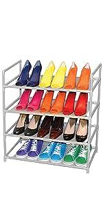 shoe, rack, storage, dazz