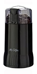 Amazon com: Mr  Coffee 12 Cup Electric Coffee Grinder with