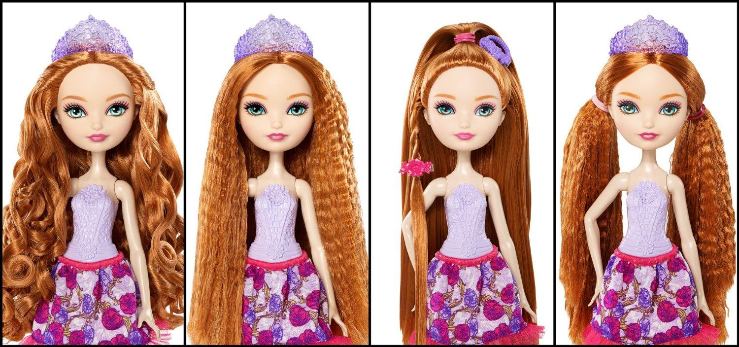 Amazon com ever after high holly o hair style doll toys amp games