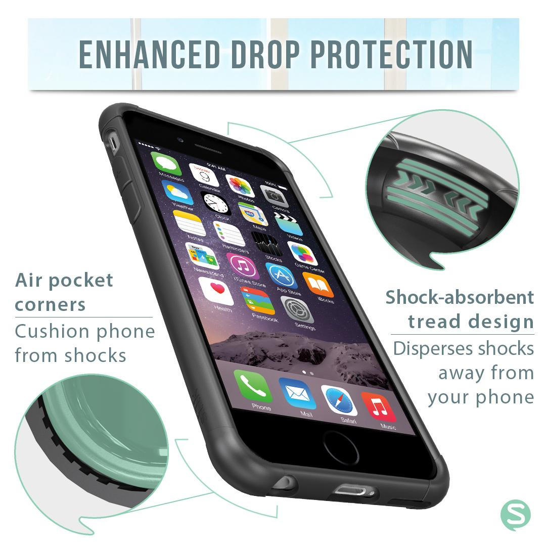 Amazon.com: Smartish iPhone 6/6s Case - PureView Clear