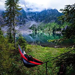 Hammock suspension straps sold separately. & Amazon.com: ENO Eagles Nest Outfitters - DoubleNest Hammock The ...
