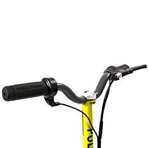 Riser Bars with Throttle and Brake Lever