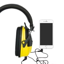 Stanley Sync Digital AM/FM/Mp3 Radio Earmuff, earmuff