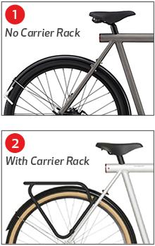 hamax child bike seat fitting instructions