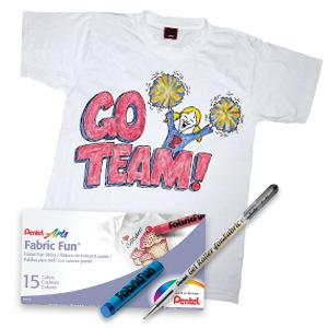 Amazon Com Pentel Arts Fabric Fun Pastel Dye Sticks 15