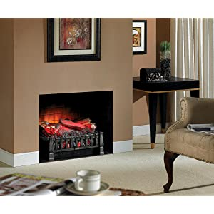 duraflame electric fireplace insert with heater