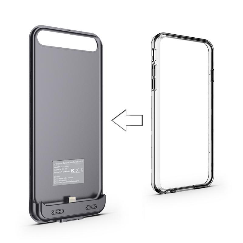 official photos bc02e 29e74 Amazon.com: URGE Basics Battery Case for iPhone 6/6S - Retail ...