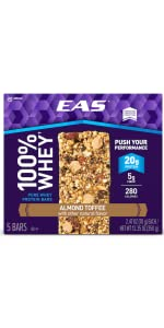 100% Whey Protein Bars