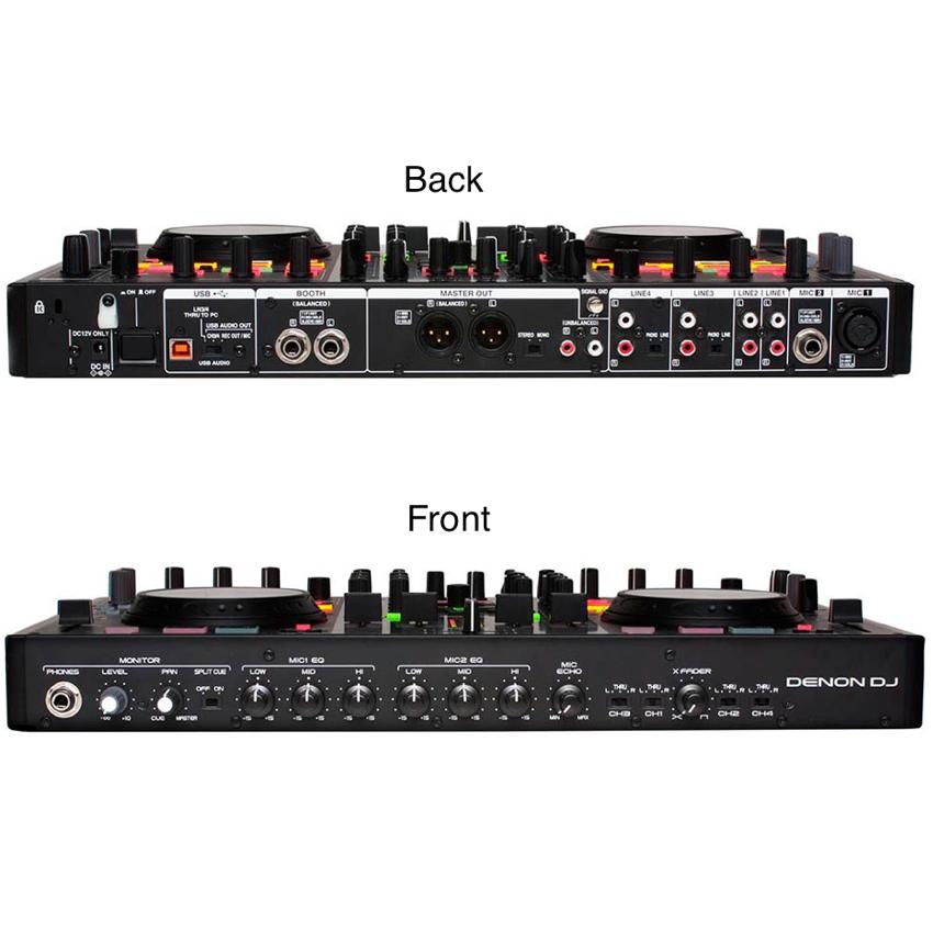 Premium Digital DJ Controller & Mixer With Full Serato DJ