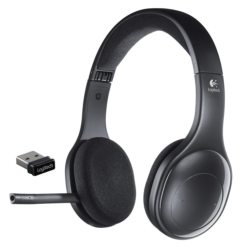 logitech h800 bluetooth wireless headset with. Black Bedroom Furniture Sets. Home Design Ideas