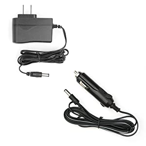 AC+DC Charging Adapters Included