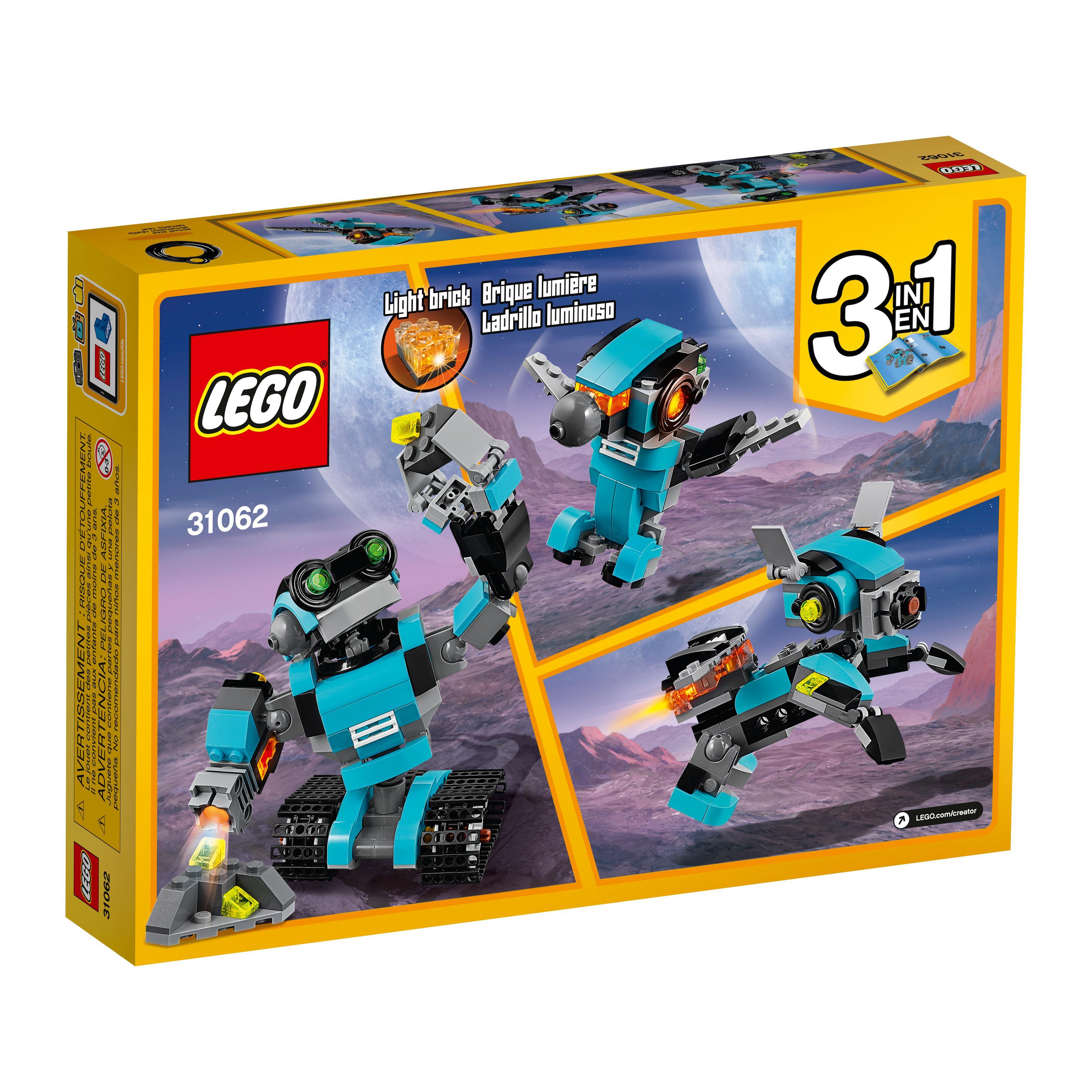 Toys For Legos : Amazon lego creator robo explorer robot toy