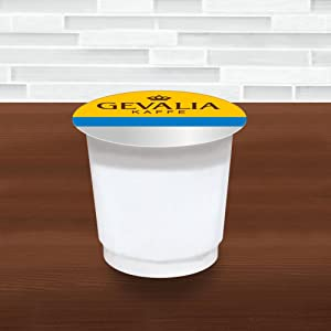 Gevalia Vanilla Latte Espresso Coffee with Froth Packets, K-Cup Pods, 6 Count: Amazon.com ...