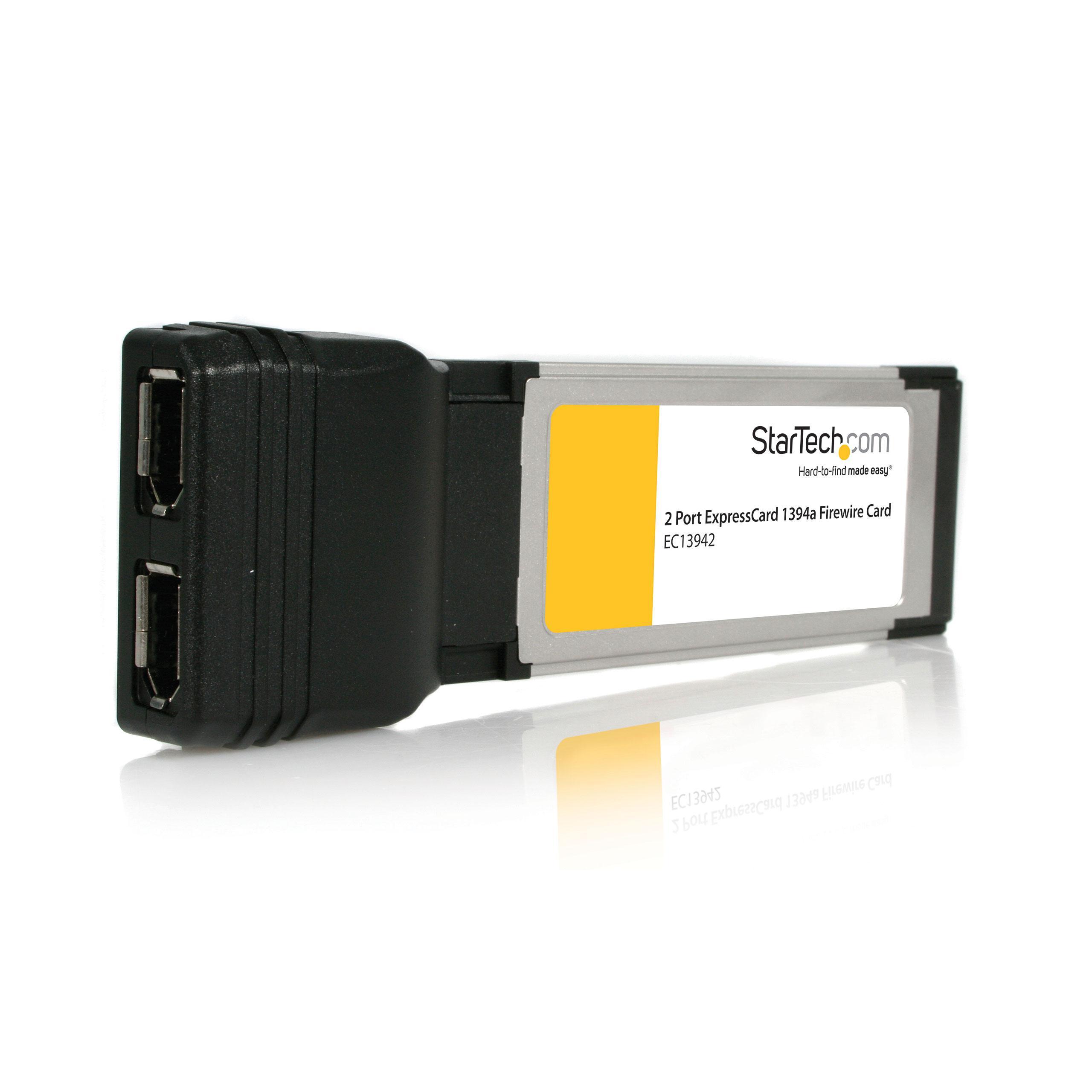 Amazon.com: StarTech.com 2 Port ExpressCard Laptop 1394a Firewire ...