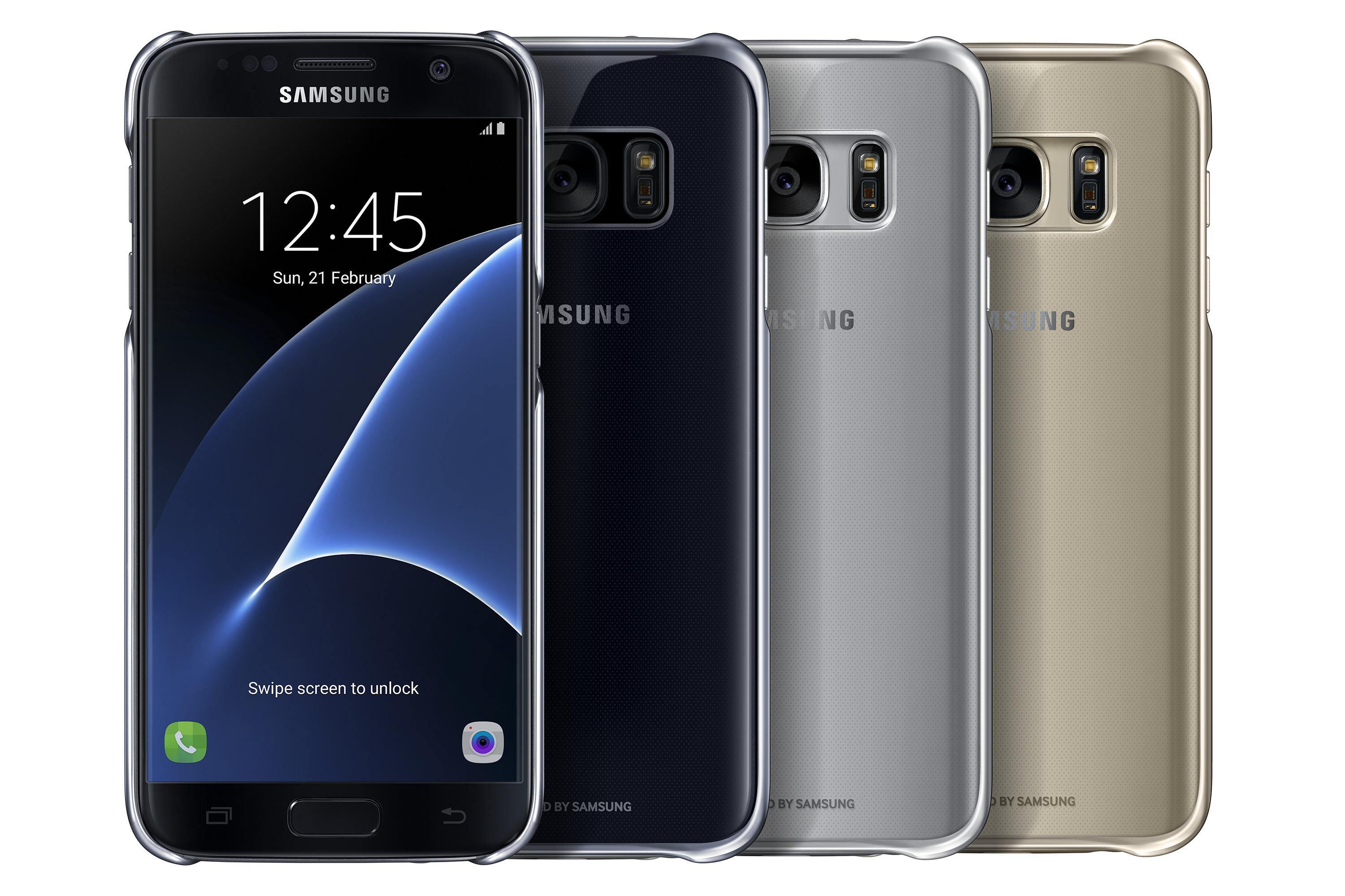 samsung galaxy s7 case clear protective cover. Black Bedroom Furniture Sets. Home Design Ideas