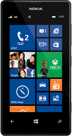 Nokia Lumia 520 (AT&T Go Phone) No Annual Contract (Discontinued by