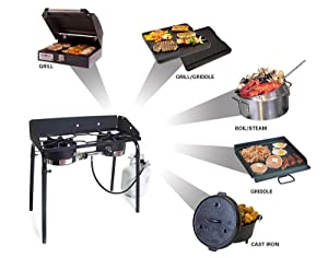 Amazon Com Camp Chef Ex60lw Explorer 2 Burner Outdoor