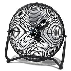 Patton 20-inch High Velocity Fan, PUF2010B-BM