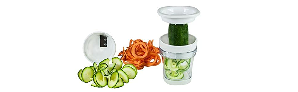 paderno spiralizer how to use
