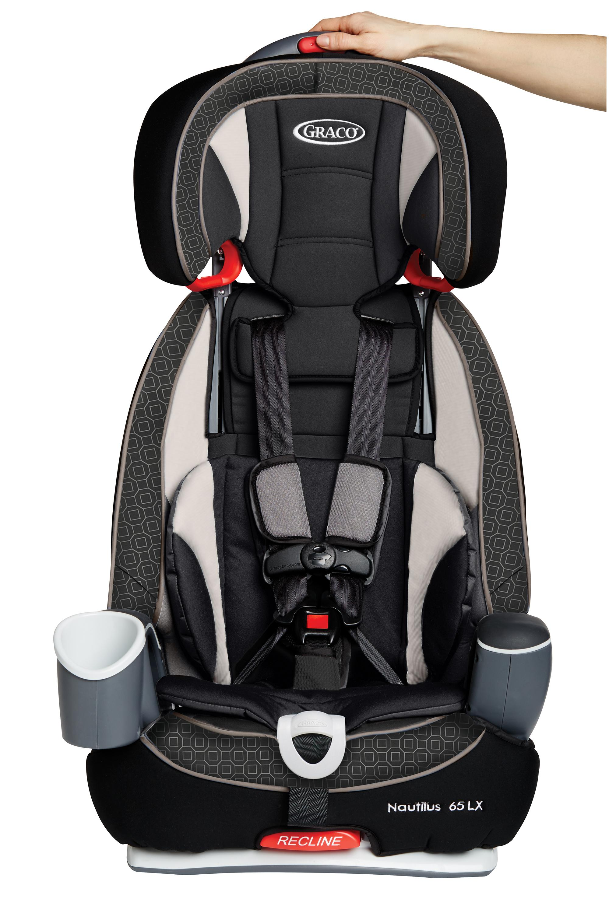 graco nautilus 65 lx 3 in 1 harness booster car seat pierce baby. Black Bedroom Furniture Sets. Home Design Ideas