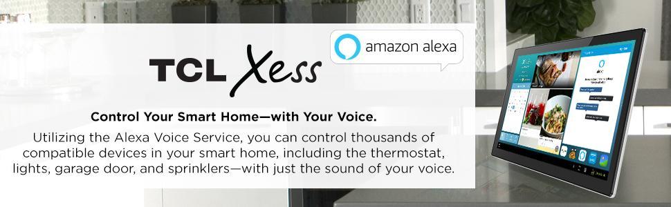 Tcl Xess   Inch Smart Home Hub With Amazon Alexa
