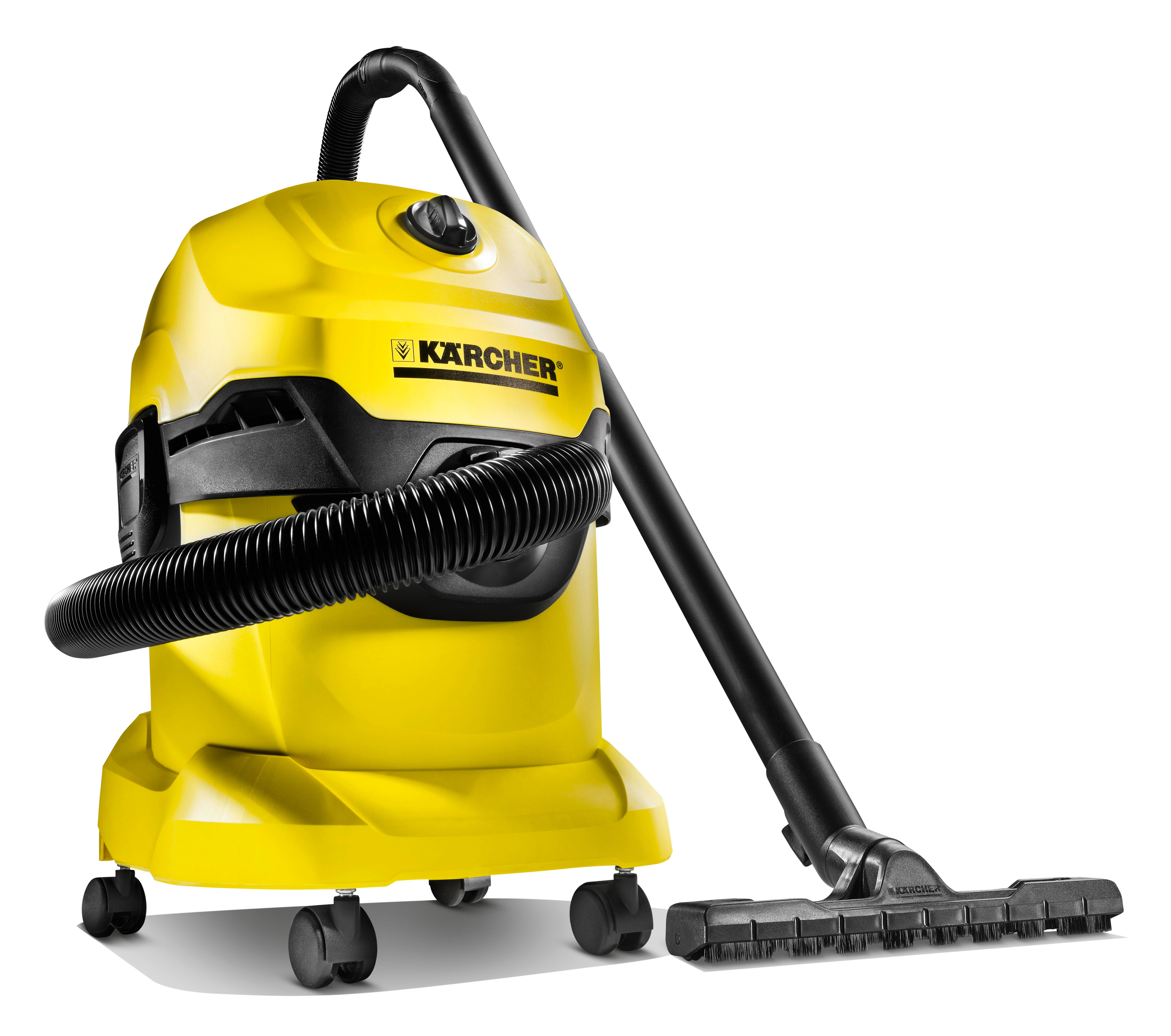 Karcher Wd4 Multi Purpose Wet Dry Vacuum Cleaner With