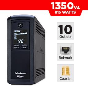 CyberPower CP1350AVRLCD Battery Backup UPS
