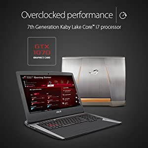 ASUS ROG G752VS-XS74K OC Edition 17-inch 120 Hz G-SYNC Full