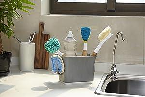 Full Circle, Bright Bin, Sink Caddy, Bucket, Sink Bucket, Cleaning Storage