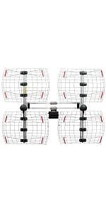 antennas; hdtv; tv; indoor; bowtie; dtv; best; DB8e; outdoor; UHF; VHF; antennas direct;
