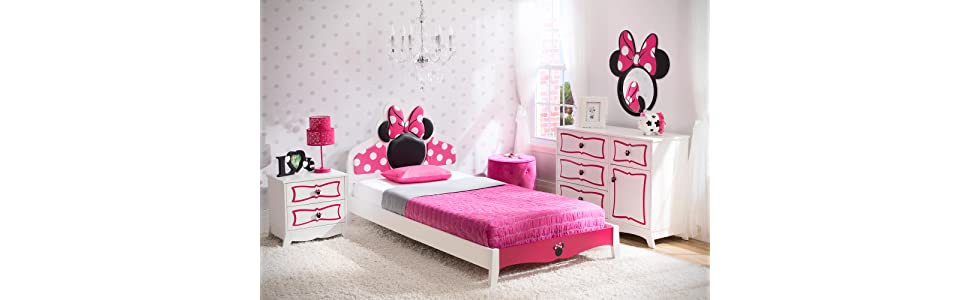 Delta Children Twin Bedroom Collection Disney Minnie Mouse Baby