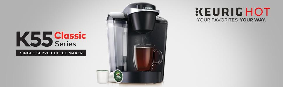 Amazon.com: Keurig K55 Coffee Maker, Black: Kitchen & Dining
