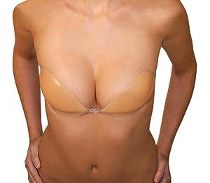 ultralite bra, adhesive bra, silicone, strapless breast bra pad, Adhesive, Silicone Nude Backless