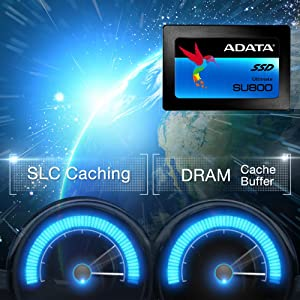 ADATA Ultimate SU800 1TB SSD D NAND 2.5 Inch SATA-III Internal Solid State NEW 7