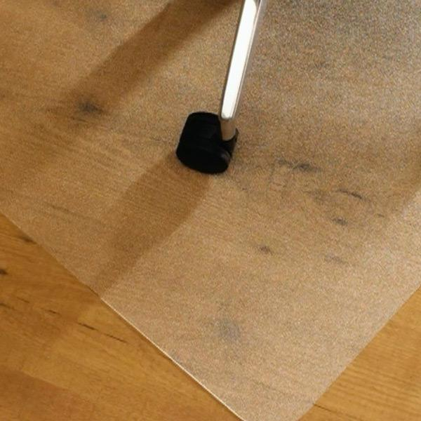 Hard Floor Protection With Floortex Mat. View Larger