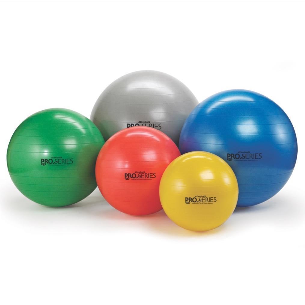 Stability Ball Core Exercises: Amazon.com: TheraBand Exercise And Stability Ball For
