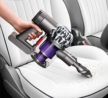 In car cleaning v6 trigger