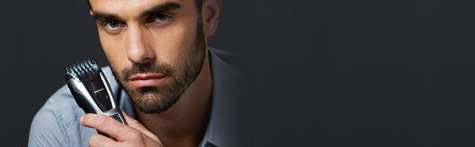 Panasonic ER-GB70-S Wet/Dry Beard, Mustache and Hair Trimmer