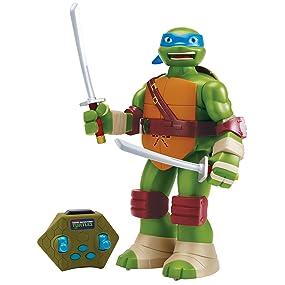 Teenage Mutant Ninja Turtles Leonardo Radio Control Action Figure, 13