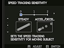 Speed Tracking Sensitivity